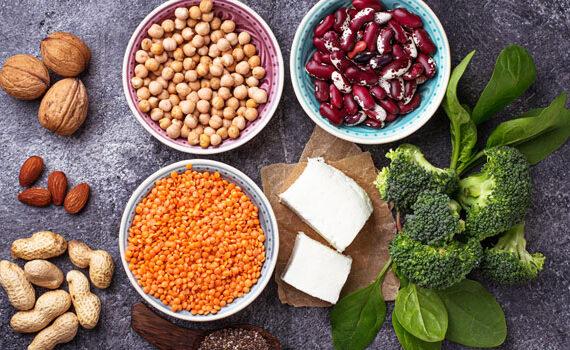 Cómo obtener suficiente proteína en una dieta vegetariana