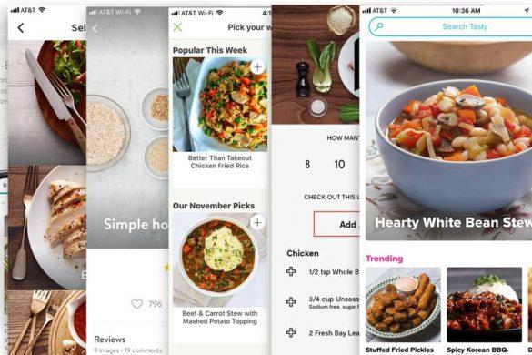 Apps para recetas con ingredientes que ya tienes
