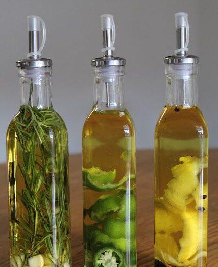 Aceite de oliva con infusión de limón