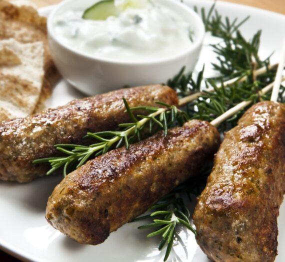 Koftas de carne con vacuno marroquí