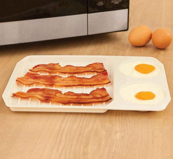 Prueba en familia estos huevos de hoja con tocino