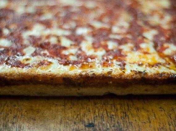Pizza al estilo Detroit