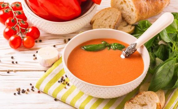 Gazpacho con tomate