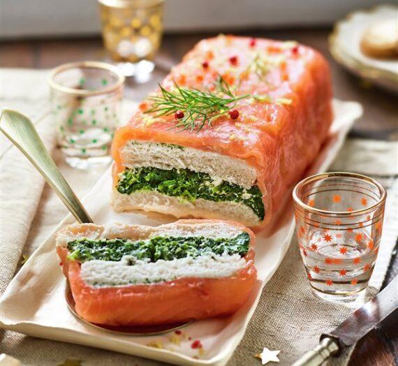 Pasteles de salmón