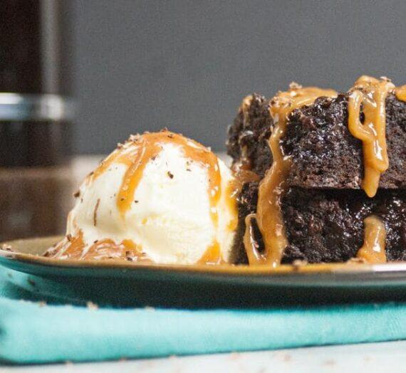Brownies de caramelo