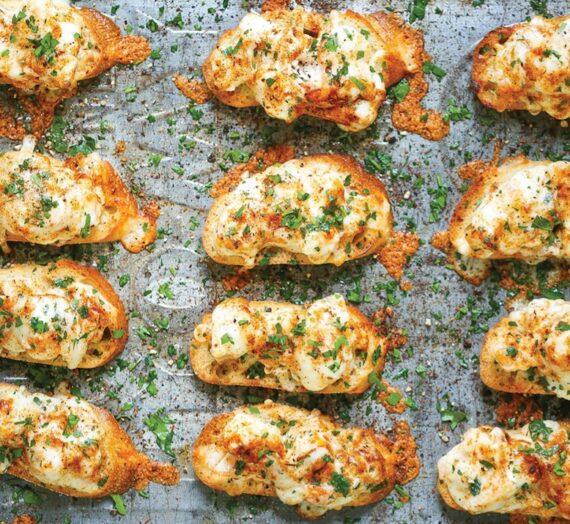 Bites de camarones