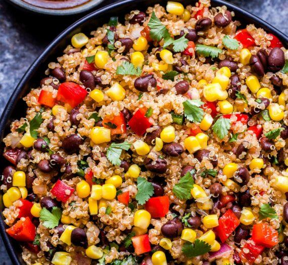 Quinoa a la Mexicana