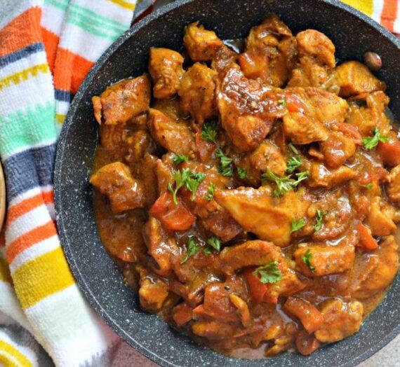 Pollo al curry: Fácil de preparar