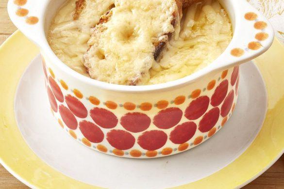 Sopa De Papas Con Cebolla Francesa