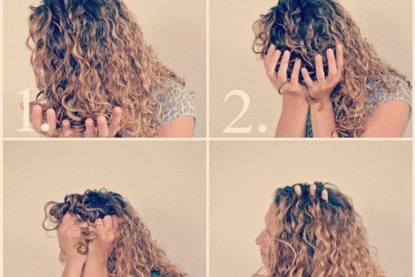 Cómo aplicar productos de peinado y definir el cabello rizado