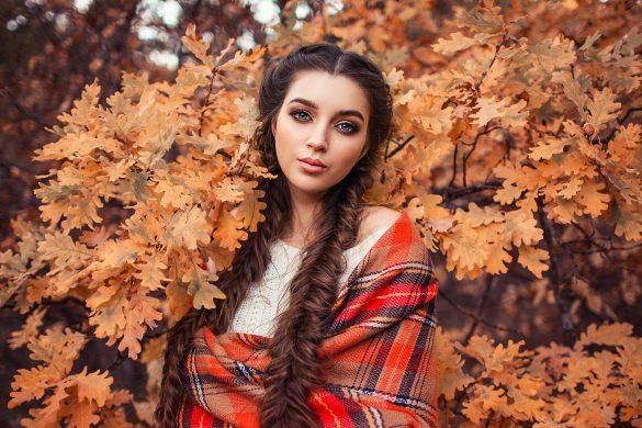 Color de cabello perfecto para lucir deslumbrante en otoño